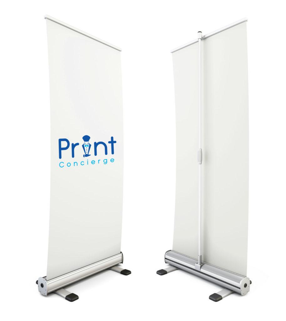 Print Concierge Premium Pull Up Banner Printing Blacktown Sydney